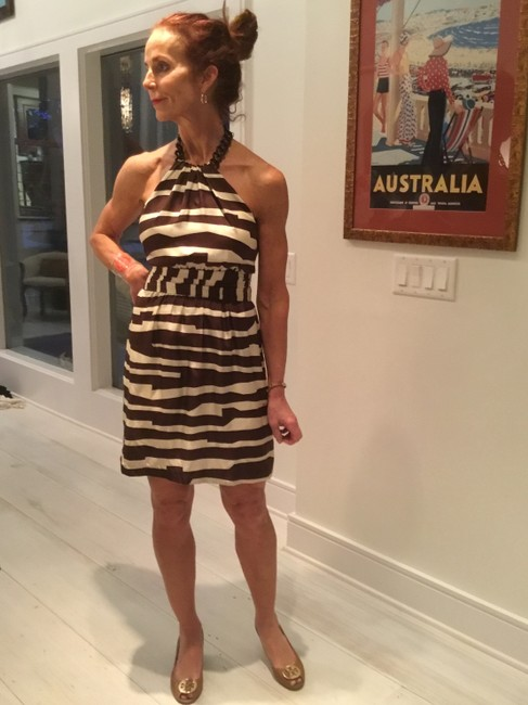 MILLY Animal Print Resort Work Dress Image 2