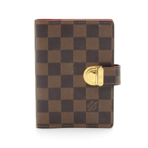 Louis Vuitton Louis Vuitton Agenda PM Damier Ebene Koala Cover
