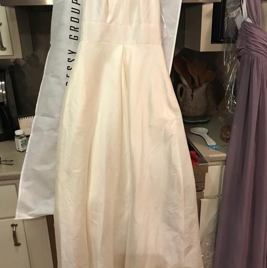 Alfred Sung Ivory D611 Traditional Wedding Dress Size 6 (S) Image 1