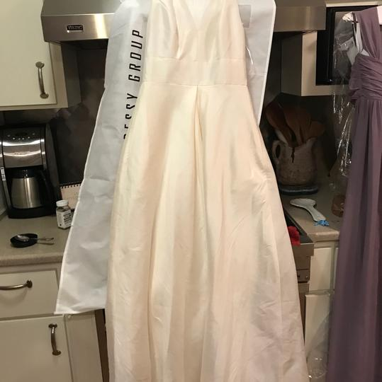 Alfred Sung Ivory D611 Traditional Wedding Dress Size 6 (S) Image 2