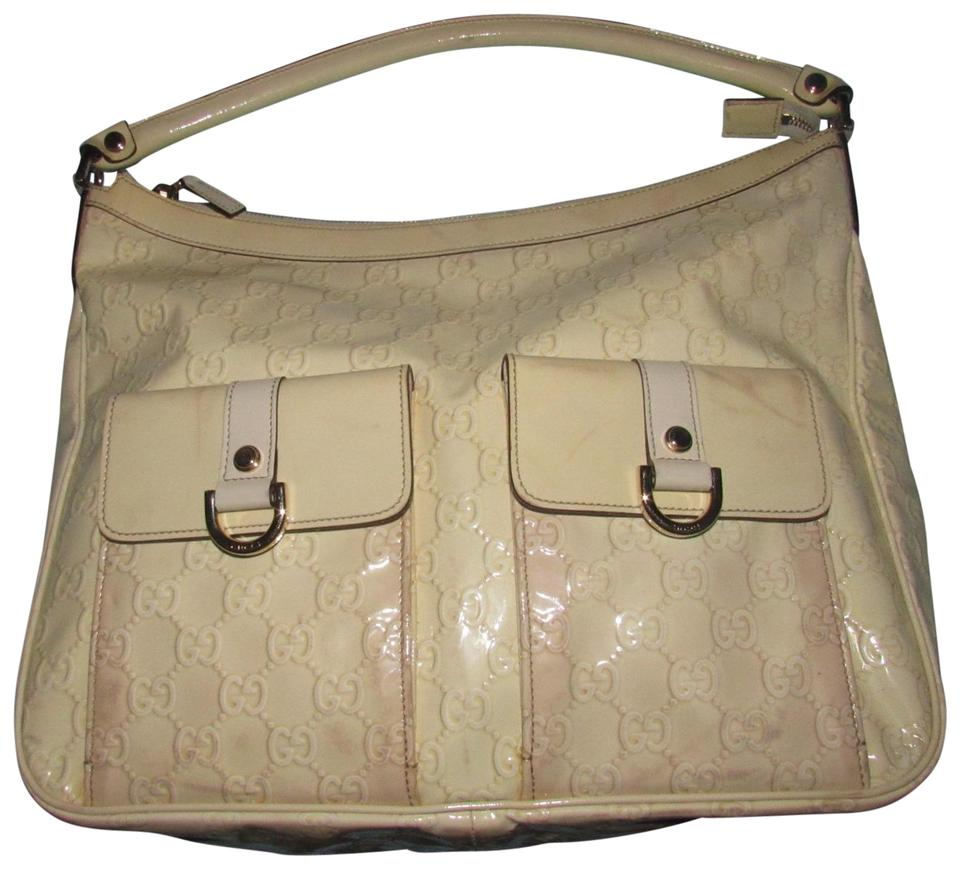 64fb54eff91 Gucci Abbey D-ring Extra Size Gold Hardware Excellent Vintage Great  Everyday Hobo Bag Image ...