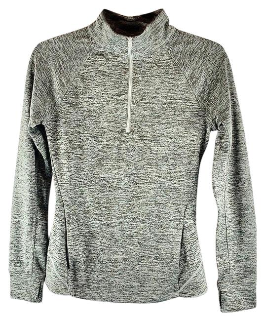 Item - Heather Gray Black Live Love Run Running Jogging Thermal Pullover Activewear Outerwear Size 4 (S, 27)
