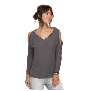 Juicy Couture Top Grey Forged Iron