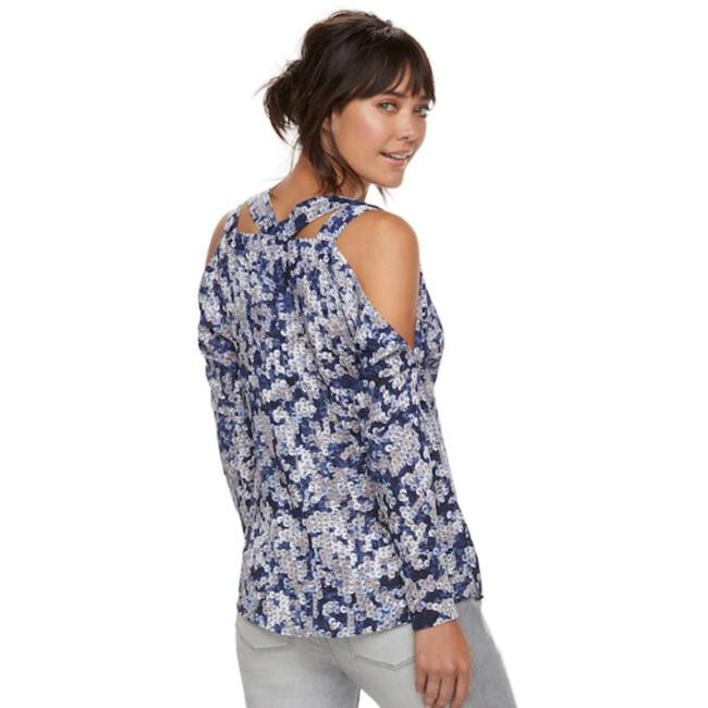Juicy Couture Top Grey Forged Iron Image 1