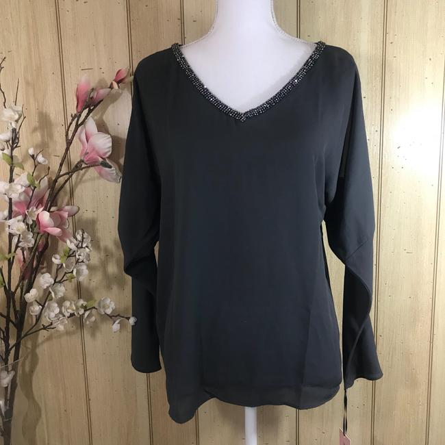 Juicy Couture Top Grey Forged Iron Image 2