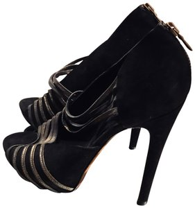 Georgina Goodman black Platforms