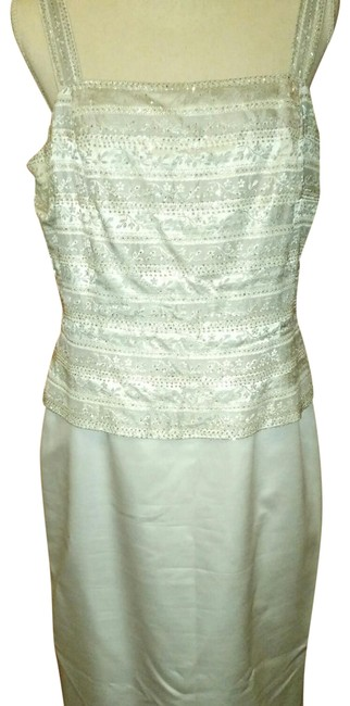 Preload https://img-static.tradesy.com/item/22919971/marie-st-claire-silverlight-grey-beaded-with-matching-jacket-long-formal-dress-size-16-xl-plus-0x-0-6-650-650.jpg