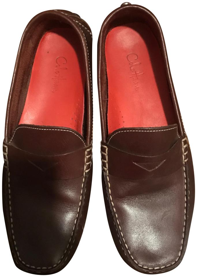 e0f31df6016 Cole Haan Brown Trillby Driver Penny Loafer Flats Size US 8 Regular ...