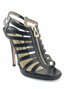 Jimmy Choo Gladiator Heels Strappy Heels Black Sandals