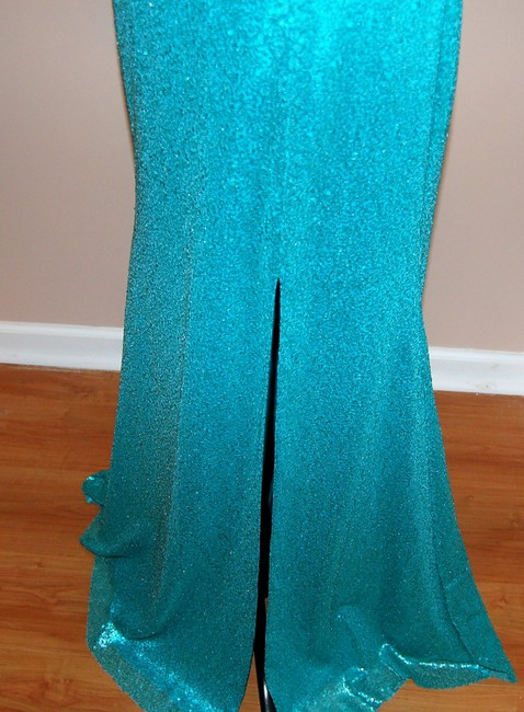 Bari Jay Prom Open Back Strapless Sequin Dress Image 5