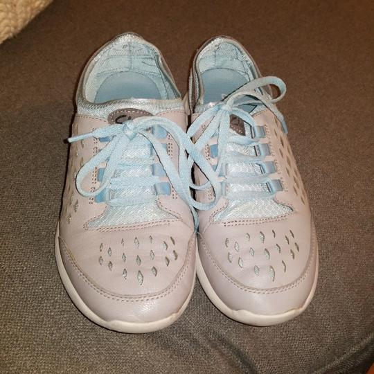 Clarks Light gray and blue Athletic Image 1
