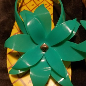 Kate Spade Yellow and green Sandals