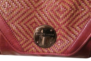 Elliott Lucca Leather Purse Bali '89 Plum Clutch