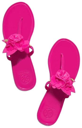 Preload https://img-static.tradesy.com/item/22920255/tory-burch-blossom-jelly-thong-sandals-size-us-7-regular-m-b-0-1-540-540.jpg