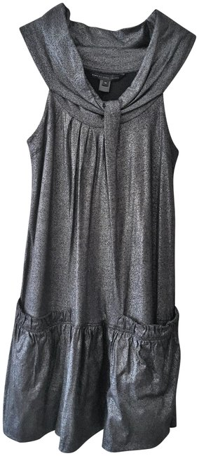 Preload https://img-static.tradesy.com/item/22920334/marc-by-marc-jacobs-metallic-black-sleeveless-silver-mid-length-night-out-dress-size-2-xs-0-1-650-650.jpg