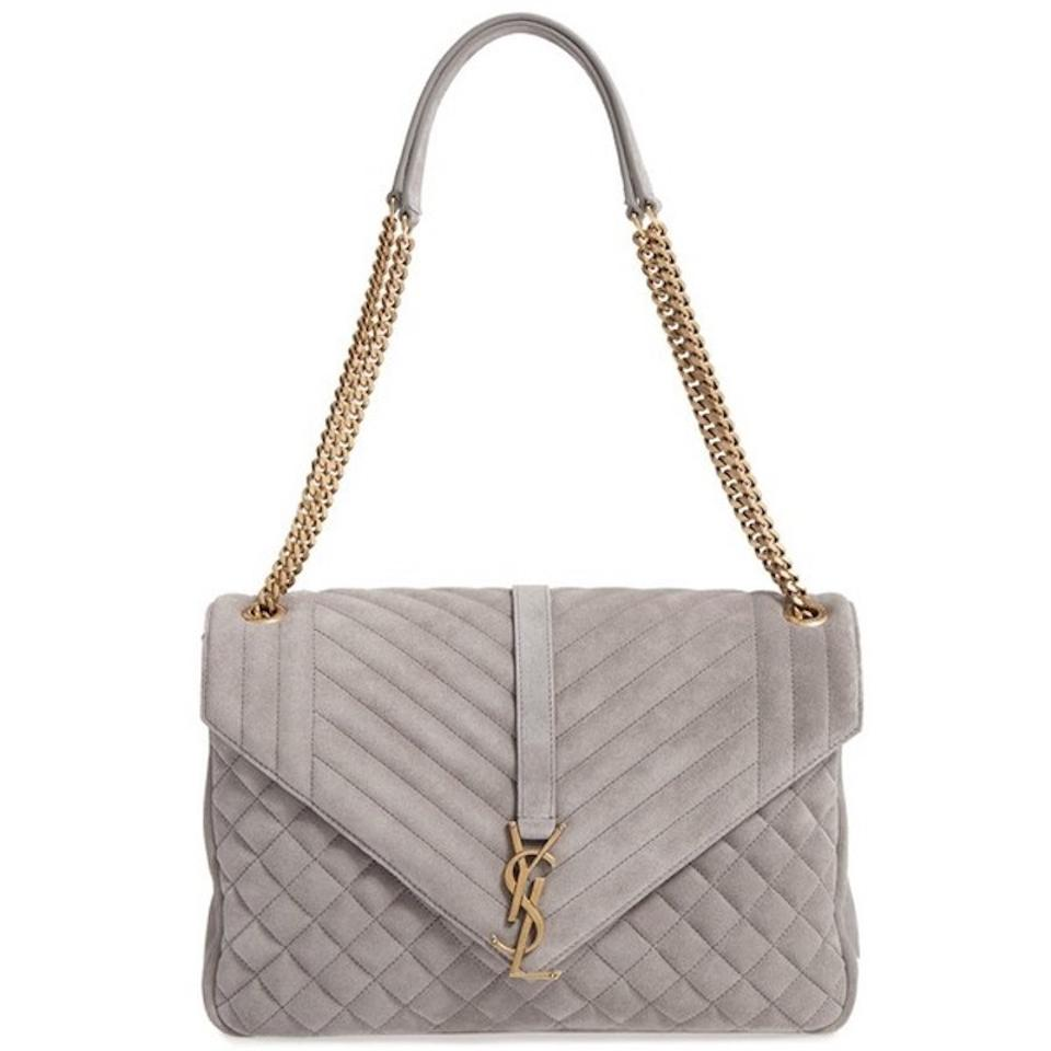 3508a01f6e Saint Laurent Monogram Kate Ysl Large Quilted College .