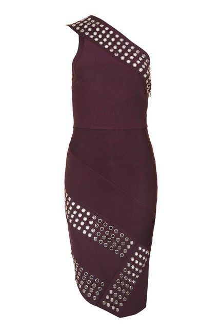 Topshop short dress Berry on Tradesy Image 4