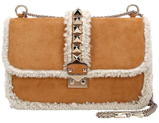 Preload https://img-static.tradesy.com/item/22920463/valentino-rockstud-shearling-glam-lock-medium-beige-suede-leather-shoulder-bag-0-1-540-540.jpg