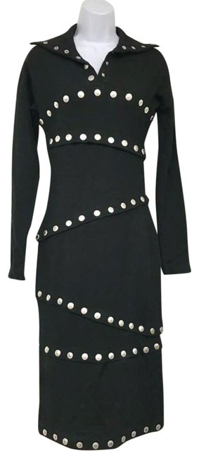 Preload https://img-static.tradesy.com/item/22920517/dolce-and-gabbana-black-made-in-italy-studded-knit-midi-40-mid-length-night-out-dress-size-4-s-0-3-650-650.jpg
