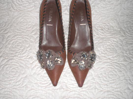 Prada Brown Pumps Image 10