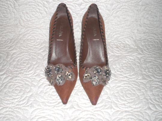 Prada Brown Pumps Image 2