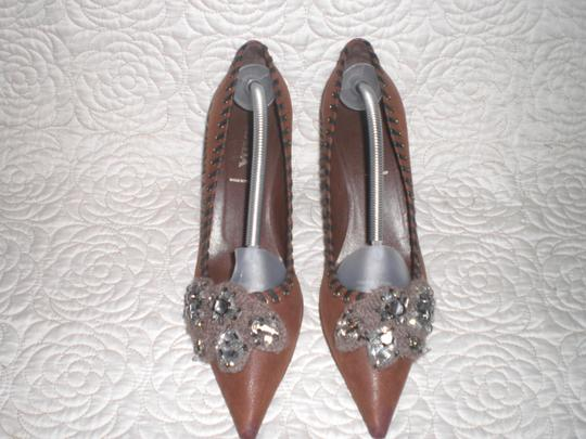 Prada Brown Pumps Image 5