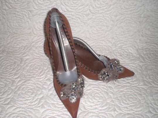 Prada Brown Pumps Image 6