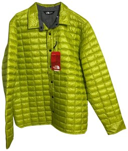 The North Face neon yellow Jacket