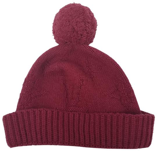 Preload https://img-static.tradesy.com/item/22920843/louis-vuitton-red-lv-printed-cashmere-beanie-hat-0-2-540-540.jpg