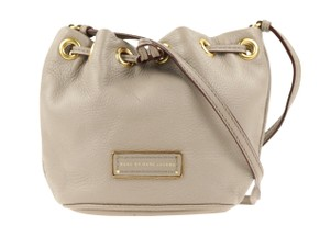 Marc by Marc Jacobs Leather Gold Hardware Cross Body Bag