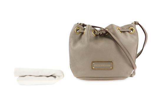 Marc by Marc Jacobs Leather Gold Hardware Cross Body Bag Image 11