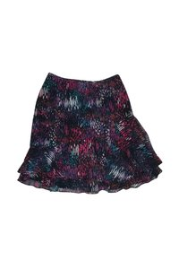 Nanette Lepore Color Silk Skirt Multi