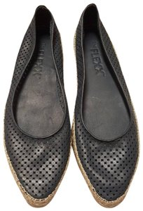 The Flexx Perforated Leather Soft Mary Jane NEW Navy Blue Flats