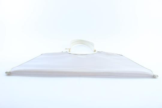 Louis Vuitton Plage Clear Lv Translucent See Through Tote in White Image 10