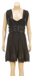 Louis Vuitton short dress Black on Tradesy