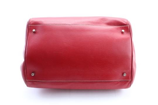 Prada Bowling Doctors Kisslock Frame Speedy Satchel in Red Image 9