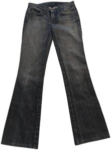 People's Liberation Boot Cut Jeans-Dark Rinse