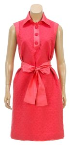 Carolina Herrera short dress Pink on Tradesy
