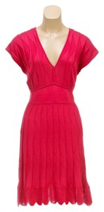 M Missoni short dress Pink on Tradesy