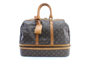 Louis Vuitton Carryall Keepall Duffle Shoe Trunk Brown Travel Bag