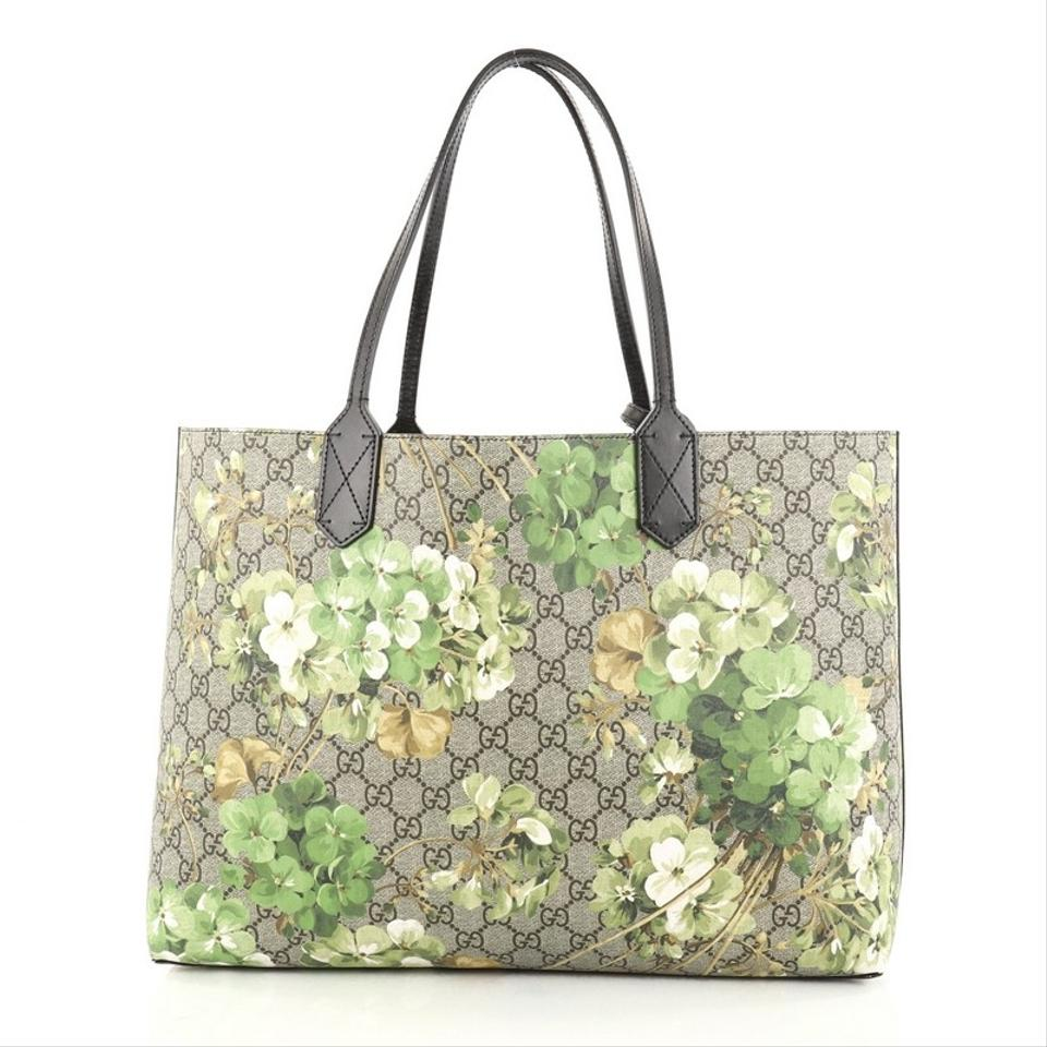 4cf62464057 Gucci Reversible Blooms Gg Medium Printed Leather Tote - Tradesy