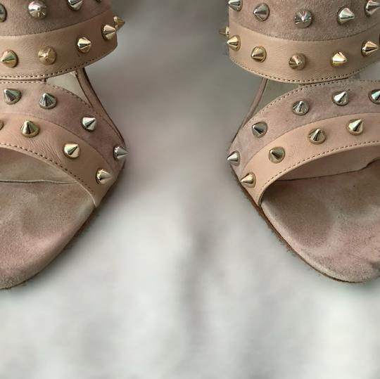 Brian Atwood nude with studs Pumps Image 1