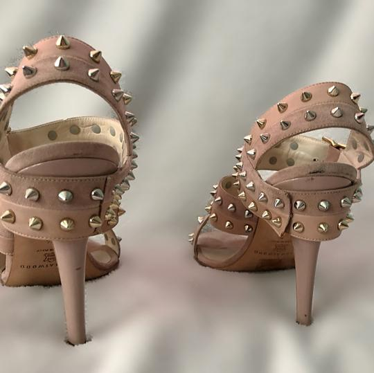 Brian Atwood nude with studs Pumps Image 3