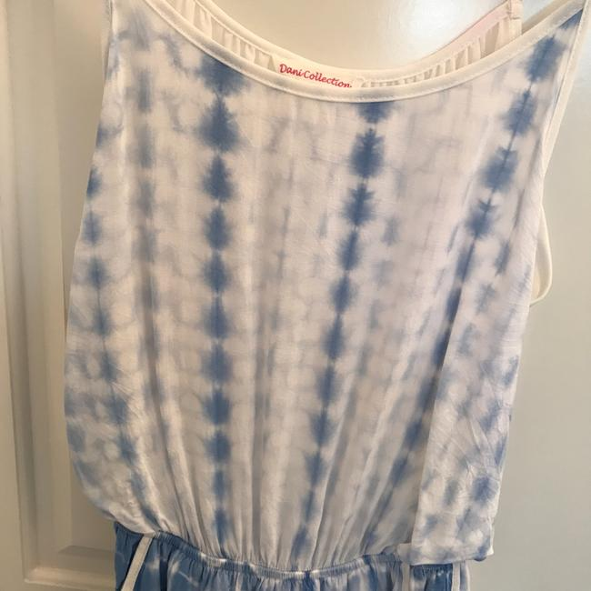 Dani Collection short dress blue white on Tradesy Image 1
