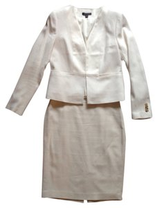 Ann Taylor White Ann Taylor Summer Skirt Suit