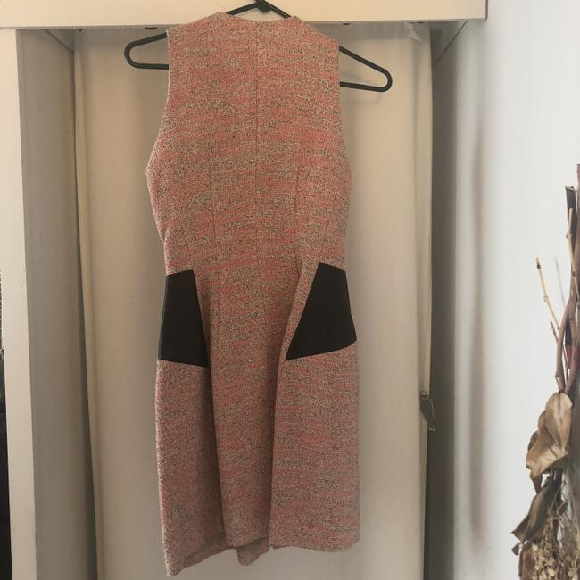 Yigal Azrouël Tweed Leather Date Dress Image 1