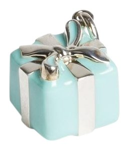 Tiffany & Co. Sterling Silver Blue Box Charm $260 NWOT