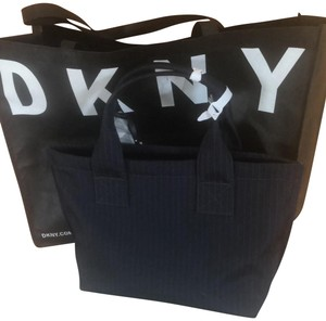 DKNY Navy Blue Tote Tote in Navy Blue