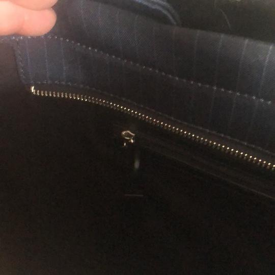 DKNY Navy Blue Tote Tote in Navy Blue Image 4