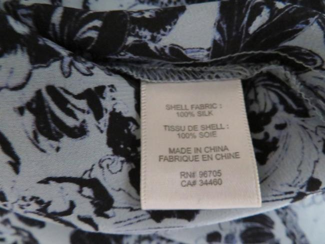 Rebecca Taylor Silk Floral 3/4 Sleeves Tunic Image 3